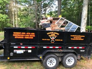 Junk hauling and removal services in Marshfield MA